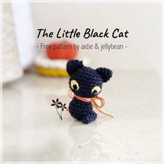 ✨FREE PATTERN✨ Introducing The Little Black Cat🐾 I've been busy making toys this year and haven't had a chance to write new patterns✍🏻 so I… How To Make Toys, Toy Sale, Jelly Beans, Sewing Crafts, I Shop, Free Pattern, Crochet Hats, Writing, Making Toys