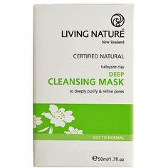Living Nature tief wirkende Reinigungsmaske im Naturkosmetik Onlineshop