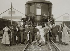 1916 ww1 women - railway