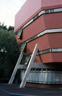 Florey Building, Oxford, England - James Stirling