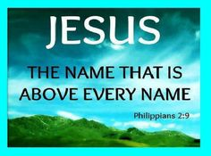 the role of jesus christ above all things The great commission of jesus christ expect great things from god  if you would effectively fulfill your role as a teacher,  above every name.
