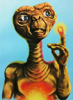 E.T. 80s Movies, Great Movies, Aliens, Et The Extra Terrestrial, Reproduction, Gremlins, Sci Fi Art, Famous Faces, Vintage Posters