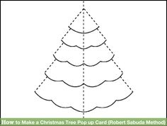 Image titled Make a Christmas Tree Pop up Card (Robert Sabuda Method) Step 1