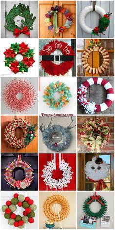 coronas navideñas                                                                                                                                                                                 Más