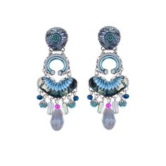 Ayala Bar Amy earrings    Necklace Radiance Collection Fall/Winter 2017-18
