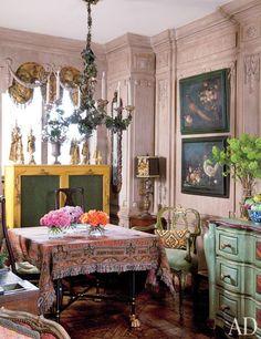 Iris Apfel's Manhattan Apartment : Architectural Digest