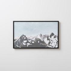 Wild Rockies Print