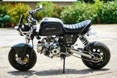 Racing Cafè: Honda Gorilla by All L Shop Motorcycle Icon, Go Dog Go, Honda Grom, Minibike, Drift Trike, Cafe Racer Build, Super Bikes, Go Kart, My Ride