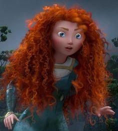 Brave Movie merida  | How Merida got such great hair from Disney's Brave - Classy Mommy