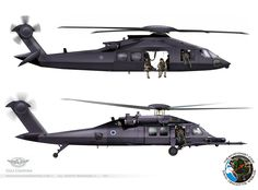 Probably the chopper which used in op. Bin Ladin. Stealth Yanshuf  http://theaviationist.com/2012/05/17/stealth-yanshuf/