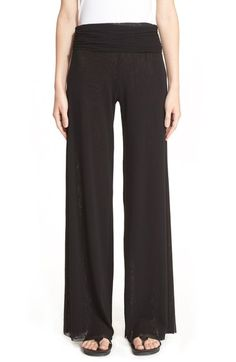 Fuzzi Tulle Palazzo Pants available at #Nordstrom