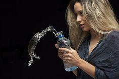 Scientists osteregat to drink water and drinks from plastic bottles more, than once.