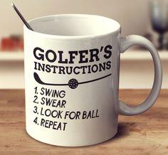 Golfer's Instructions