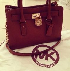 This MK bag is just the look for fall