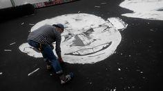 #EskReyn & #NUKA started working at the skatepark! #EuropaliaTurkey #JournéeSansVoiture #AutolozeZondag #CarfreeSunday #Sk8boarders #graffiti #streetart #streetarteverywhere #painting #brussels #turkeyhome #furkannuka #furkannukabirgun