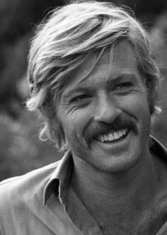 Robert Redford on the set of Butch Cassidy and the Sundance Kid, 1969