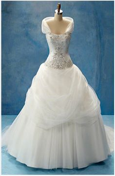 """If only Jeff would ask me to marry him again...this is what I would be wearing. (Alfred Angelo's Disney Inspired Dress """"Belle"""")"""