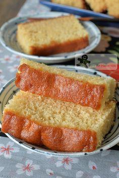 Bake for Happy Kids: Japanese Castella Cake / Kasutera カステラ / 长崎蛋糕 - Traditional Method