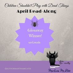 The winner of yesterday's ARC is @savi.reads. #CSPWDTReadAlong #bibliophile #readmore #bookobsession #reader #bookworm #instabook #ya #goodreads #bookstagram  #cspwdt #deadthingsseries #yalit #yabooks #yaparanormal #deadthingsseries #deadlings #childrenshouldntplaywithdeadthings #kindleunlimited #library #readalong #bookclub #lgbtbooks #yadiversity #darkdreamsanddeadthings by authormartinamcatee