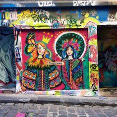 STREET ART // Finding beauty in the secret spots of Melbourne #melbourne…