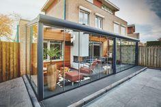 Tuin Open Haard : Overdekte zithoek tuin top buiten heeft dit appartement de