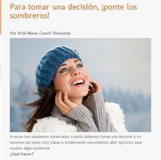 Para tomar una decisión, ¡ponte los sombreros! | Colaborando en el blog #Thiomucase  #creatividad #coaching http://www.thiomucase.es/thioblog/2015/02/12/para-tomar-una-decision-%C2%A1ponte-los-sombreros/