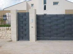Iron Main Gate Design, Grill Gate Design, House Main Gates Design, House Fence Design, Fence Gate Design, Steel Gate Design, Privacy Fence Designs, Front Gate Design, Door Design