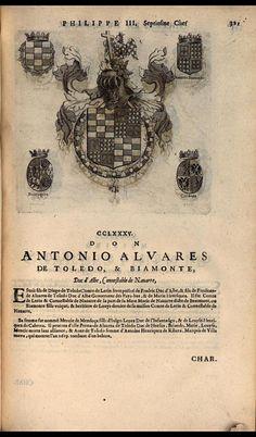 289. 1599; Antonio Alvarez de Toledo, 5th Duke of Alba (1568-1639).