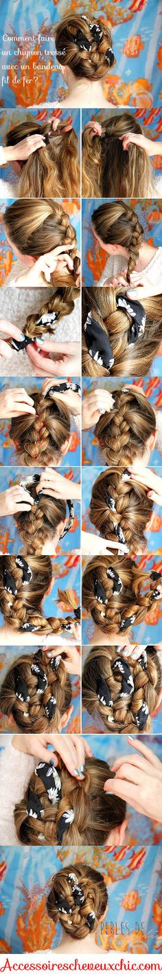 Coiffure chignon avec une tresse Wedding Hairstyles, Hair Color, Hair Styles, Stuffed Mushrooms, Culture, Magazine, Vegetables, Lifestyle, Food