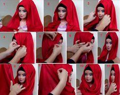 turkish hijab tutorial Turkish Hijab Tutorial, Hijab Turkish, Turkish Fashion, Turkish Style, Funny Art, Fashion 2020, Hijab Fashion, Kebaya, Style Guides