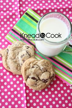 Peanut Butter Chocolate Chip Cookies made with PB2! I want to try this with chocolate PB2