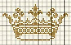 Image result for cross stitch crown