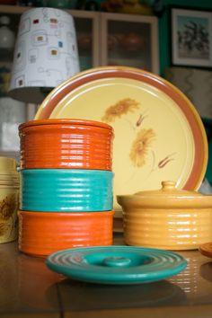 Original Bauer refrigerator jars
