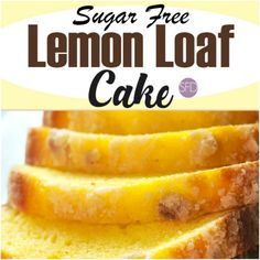 This is the recipe for Sugar Free Lemon Loaf Cake. Imagine a great tasting sugar free cake that is coated with a sugar free glaze.