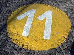I've seen the number 11 everywhere for the past 3 months or so (clocks, checks, receipts, profile views, etc.)  Wish I knew what it meant.