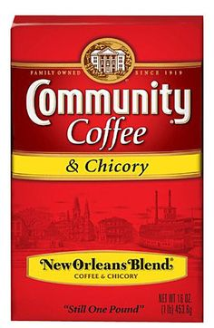 A cup a day keeps insanity at bay. We don't do chicory, but we do have Community Coffee by the case.