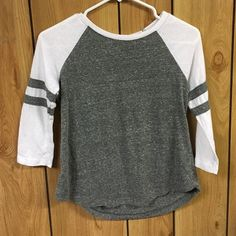 NWOT tee New with out tags says size medium but runs a little small, more like a medium. Extremely comfortable Ambiance Apparel Tops Tees - Long Sleeve