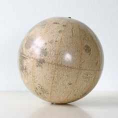 Vintage Moon Globe by Rand McNally via bellalulu on Etsy, 98.00