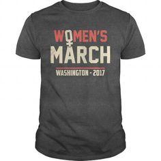 Awesome Tee Womens march Washington 2017 anti Trump shirt T-Shirts