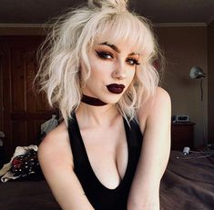 Great Cost-Free Camilla alternativa, White Witch Suggestions For the decision to an Aesthetic-Plastic Surgery or so-called plastic surgery, there are many, perso Blonde Goth, Goth Hair, Grunge Hair, Grunge Goth, Camilla, Make Up Looks, Goth Makeup, Hair Makeup, Makeup Style