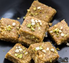 Easy and delicious pista badam burfi - a fudge made with pistachios, almond and ghee! This Indian sweet is perfect for any festive occasion! Indian Dessert Recipes, Indian Sweets, Indian Snacks, Indian Recipes, Arabic Sweets, Holi Recipes, Sweets Recipes, Cooking Recipes, Diwali Recipes