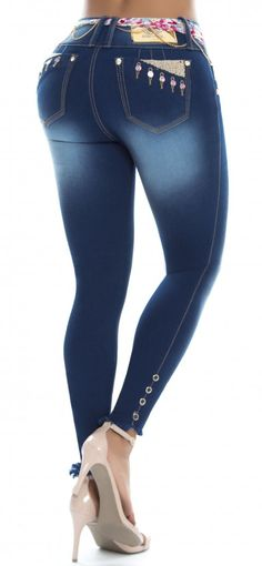 Jeans levanta cola REVEL 56161