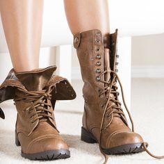 oralee-tan-combat boots