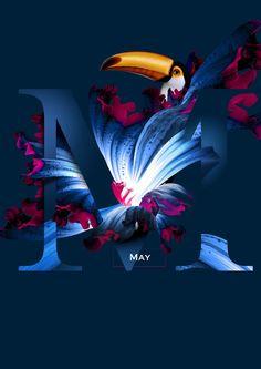 Flying Flowers 2016 by Artur Szygulski https://www.behance.net/arturszygulski