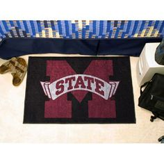 Mississippi State Bulldogs NCAA Starter Floor Mat (20x30)
