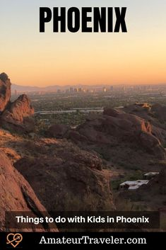 Things to do with Kids in Phoenix #travel #trip #vacation #phoenix #arizona #kids Phoenix Things To Do, Desert Botanical Garden, Mountain Park, Outdoor Playground, Beautiful Park, Road Trip Usa, Countries Of The World, Travel With Kids, Dream Vacations