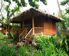 bahay kubo nipa hut pinterest bamboo house house and bungalow. Black Bedroom Furniture Sets. Home Design Ideas