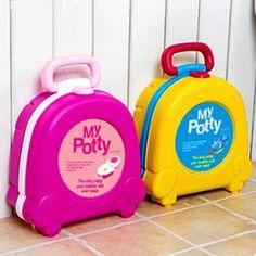 Girl Boy Portable Travelingy Potty Toddler Underwear, Portable Potty, Baby Toilet, Squatty Potty, Baby Potty, Toilet Training, New Baby Girls, Color Box
