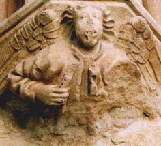 Cloître de l'Eglise de Sasamon  (Castille)  XIII° siècle