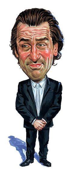 Robert De Niro - CARICATURE: http://dunway.com/